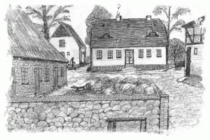 Bartenshagen Hof V um 1960
