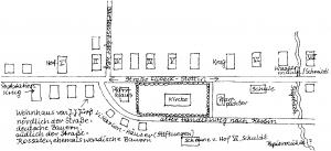 Parkentin Lageplan 1800